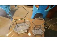 Laura Ashley Glass Jewellery Boxes