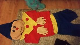 Noddy out fit and monster inc will sell separatly