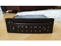 Peugeot 206 307 807 Partner Clarion RD3 Radio Stereo CD Player