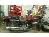 Aquila Hyosung GV 125 V-twin motorcycle