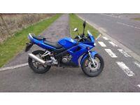 Honda CBR125r 2006 blue