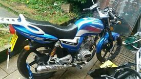 ideal for some 1 who has just passed there cbt test also got full logbook and mot papers