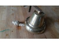 Stunning vintage brass ships bell small