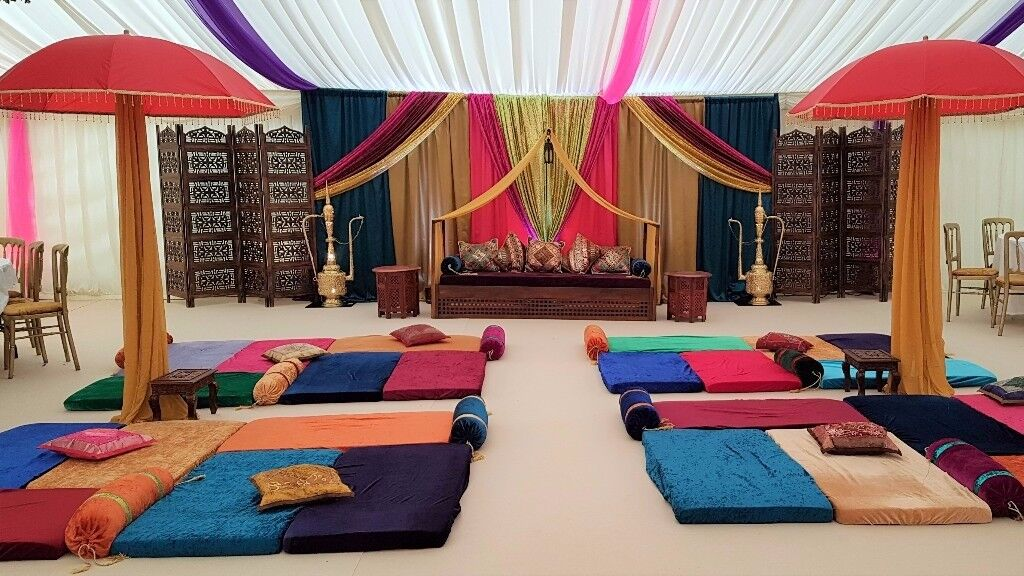 Tempting occasions mehndi decorations party decor mehndi for Mehndi decoration