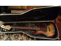 Sunburst Jazz Fender Bass 1996
