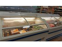 2 x AHT Berlin Display Freezers