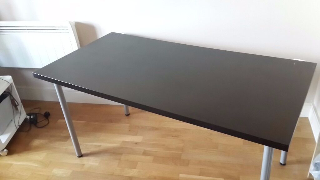 Ikea Desk Vika Amon Table Top Adils Legs 40 Ed