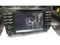 BRAND NEW MERCEDES C/CLK/G/CLC CLASS ANDROID CAR DVD/CD PLAYER**16GB MEMORY*BUILT IN FULL EU MAPS