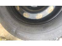 BRAND NEW VW AUDI 5 pin wheel Michelin tire 175 80 14