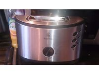 Russel Hobbs Stainless Steel 2 slice Toaster