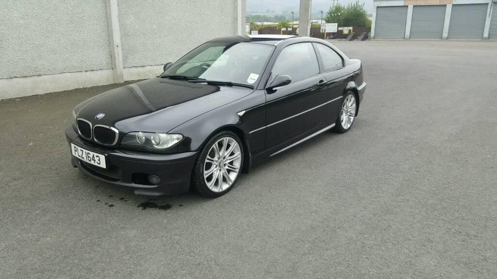bmw e46 320d m sport coupe 330cd 320cd 330d e36 e90 a4 a6 in warrenpoint county down. Black Bedroom Furniture Sets. Home Design Ideas