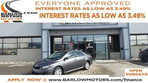 2010 Toyota Corolla S (APPLY NOW DRIVE NOW)