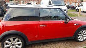 2001 1.6 red Mini cooper for sale