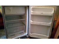 Silver Indesit under counter fridge in good condition and great working order.