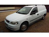 Vauxhall Astra Van 2001, 12 Months MOT