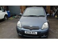 TOYOTA YARIS 05REG MOT TILL JULY EXCELENT CONDITION