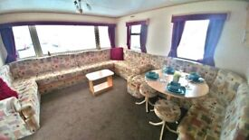 ***STUNNING PRE-OWNED STATIC CARAVAN FOR SALE WHITLEY BAY HOLIDAY PARK SITE FEES INCLUDED***