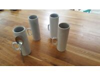 Anthropologie coffee cups x 4