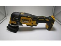 DeWalt DCS355 Brushless Multi Tool With Sand Paper Body Only. (46666)