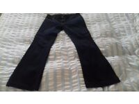 Whistles Flared Jeans - size 32 inch waist