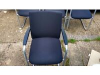 Haworth Comforto Cantilever Visitor / Guest Chair German Quality