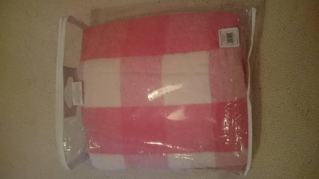 2 100% wool vintage blankets
