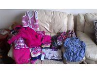 Bundle girl clothes 12-24m