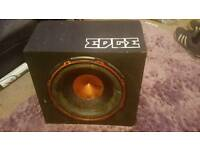 Edge subwoofer 900w