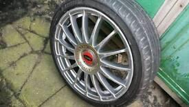 Alloy tyres