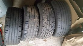 4 deep tread tyres for sale