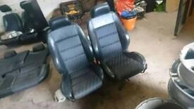 Audi A4 S line seats