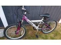 20 inch girls bike front suspension