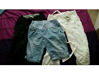 Maternity summer trousers size 10