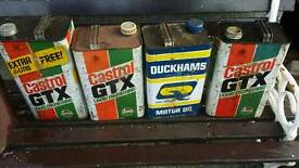 Old oil cans offers