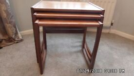 Gplan Nest of Tables good condition