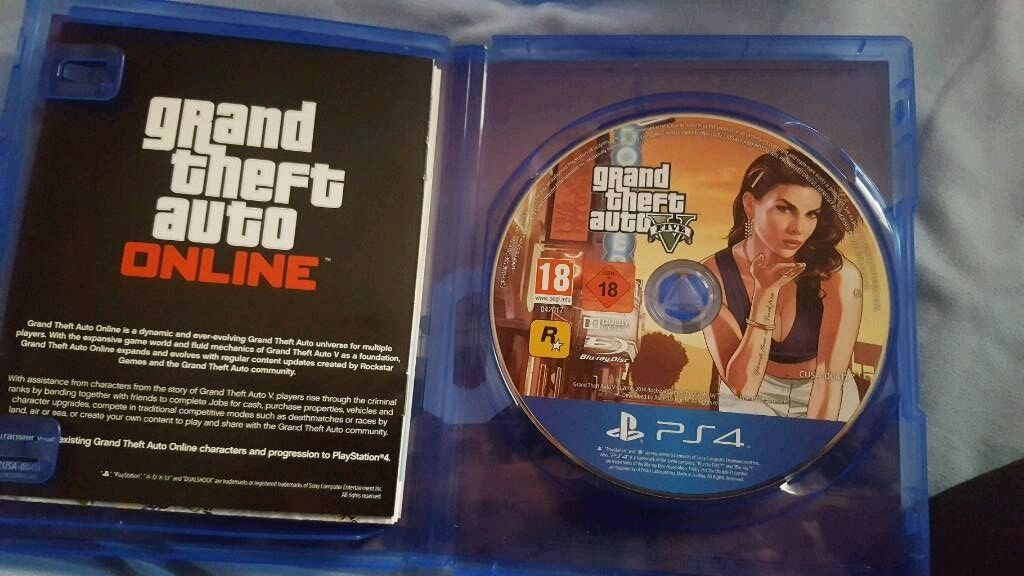gta 5 ps4 like new in huddersfield west yorkshire gumtree. Black Bedroom Furniture Sets. Home Design Ideas