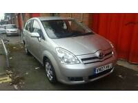 2007 TOYOTA VERSO(VN07HVJ) VVTI-T2 1.6 PETROL MANUAL.FULL DEALER HISTORY 9 STAMPS.AA REPORT INCLUDED