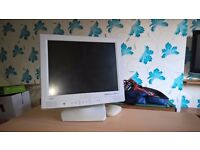 PC, Screen, Desk and Games Bundle - in good working condition
