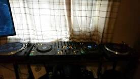 Full DJ setup, pioneer