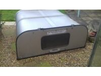 Ifor williams truck canopy for nissan navara
