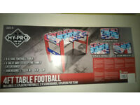 Fussball Table Football. New. Good quality. RRP £80