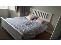 Ikea hemnes brand new king size bed