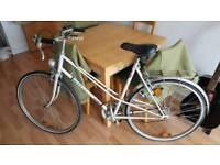 Vintage Peugot Ladies Bike