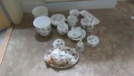 15 piece Wedgewood bathroom set