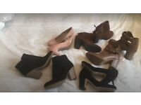 Selection of size 4 shoes/boots for the lot