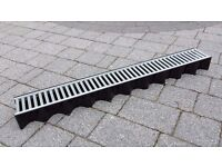 Aco Hexdrain with Galvanised Steel Grating 1m - 10 pieces available
