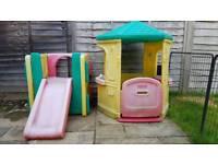 Little Tikes Play House & Slide