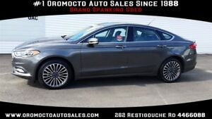 2017 Ford Fusion AWD,REMOTE START,LEATHER,NAV,SUNROOF