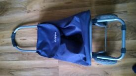 HOPPA SHOPPING BAG TROLLEY CART LARGE STURDY WHEELS