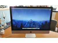 "iMac 27"" Mid 2011 3.1ghz Core i5 processor. 1TB Hard Drive. 4gb Ram. Excellent Condition."